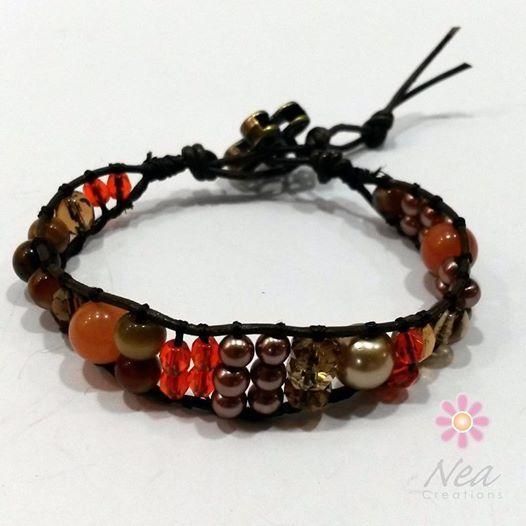 Simple, sola, única  www.neacreations.com #neacreations #jewelry #bracelet #bracelets #WrapBracelets