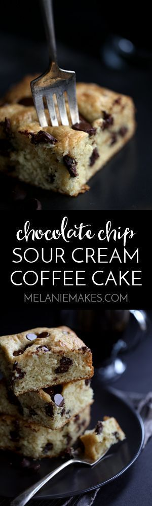 Chocolate Chip Sour Cream Coffee Cake Melanie Makes Sour Cream Coffee Cake Coffee Cake Breakfast Cake