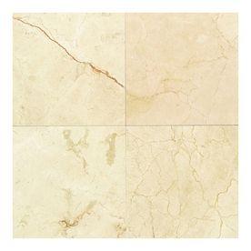 American Olean 12 X 12 Crema Marfil Classic Marble Tile Floor Marble Floor Marble Look Tile