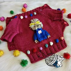 Photo of knitted dog sweater dog costume coat for dogs dogs …