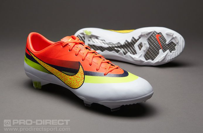 new concept 12c04 c46a7 Nike Football Boots - Nike Mercurial Vapor IX CR FG - Firm Ground - Soccer  Cleats - White-Volt-Total Crimson  mypdsmostwanted