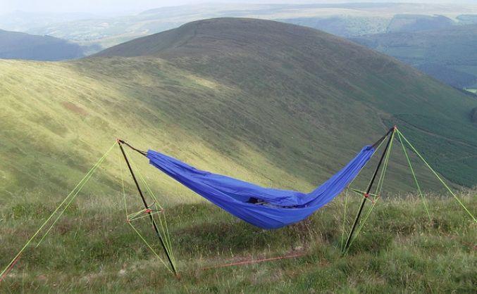 camping hammock portable hammock stand   handy hammock on kilimanjarao   nod      rh   pinterest