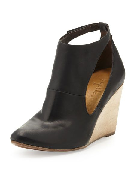c69150e2c7fbe Found! Black cutout wedges that are a favorite of Joanna s.