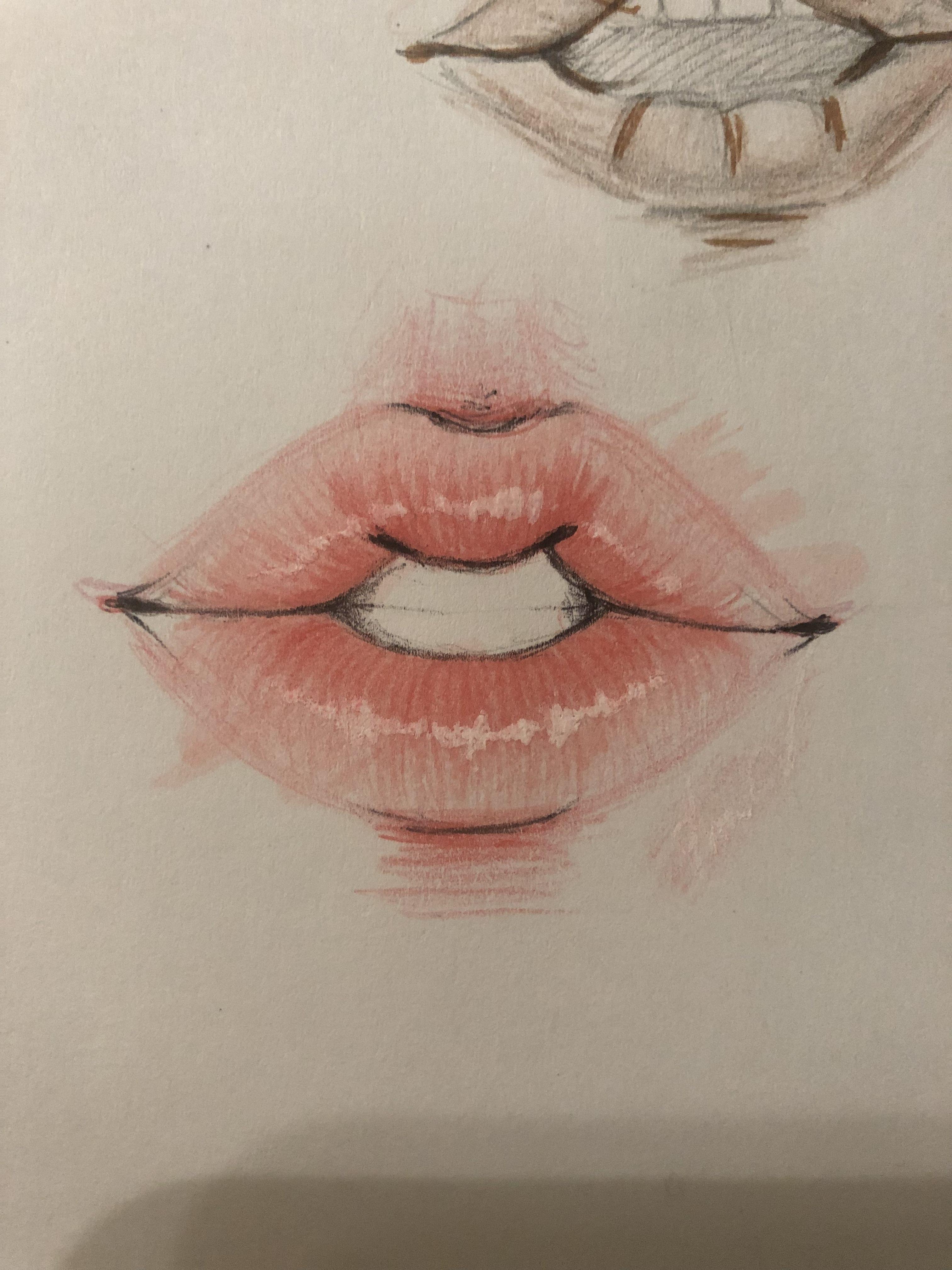 картинки как рисовать губы фотостудий химок