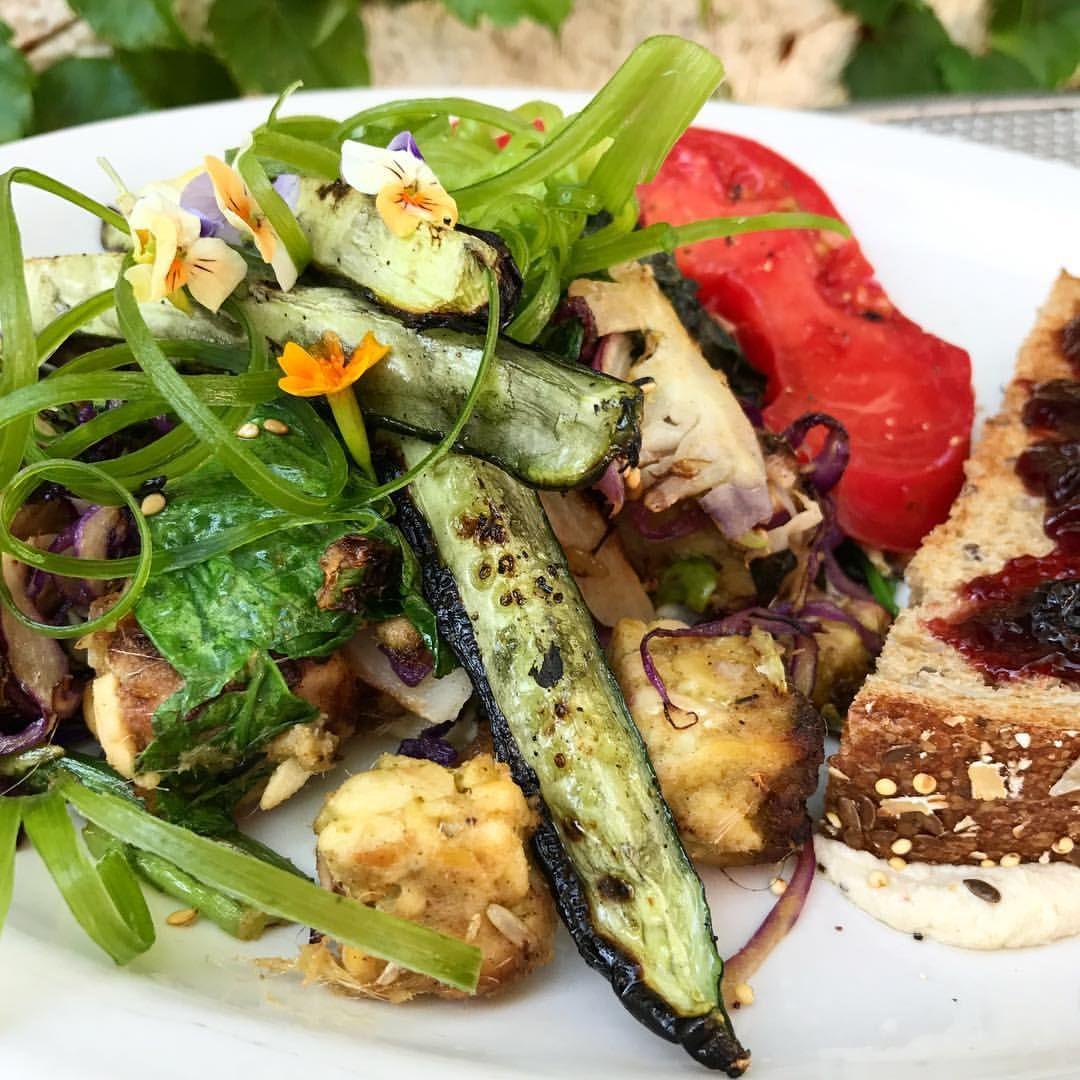 Vegan Tempeh Scramble From Birchwood Cafe In Minneapolis Mn