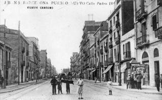 Resultado de imagen de poblenou antic barcelona