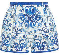 Pin for Later: 28 Shorts à Imprimés Qui Vous Aideront à Combattre la Chaleur  Dolce & Gabbana - Short en brocart imprimé (695€)