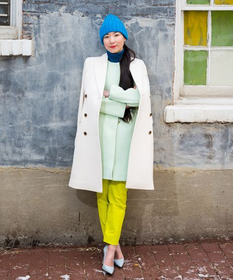 Monling Lee - Photos and Interview | Meet Monling Lee, a Washington DC architect with amazing colorblocking style. #refinery29 http://www.refinery29.com/monling-lee