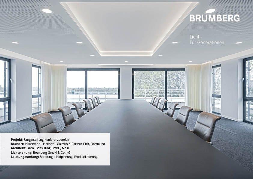 Kanzlei Husemann Beleuchtungsprojekt Brumberg Beleuchtung Indirekte Beleuchtung Beleuchtungskonzepte