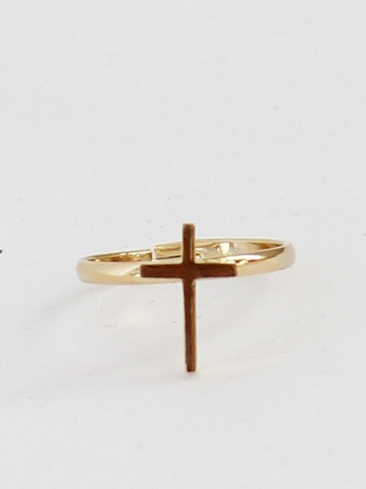 Little Gold Cross: adorbs.