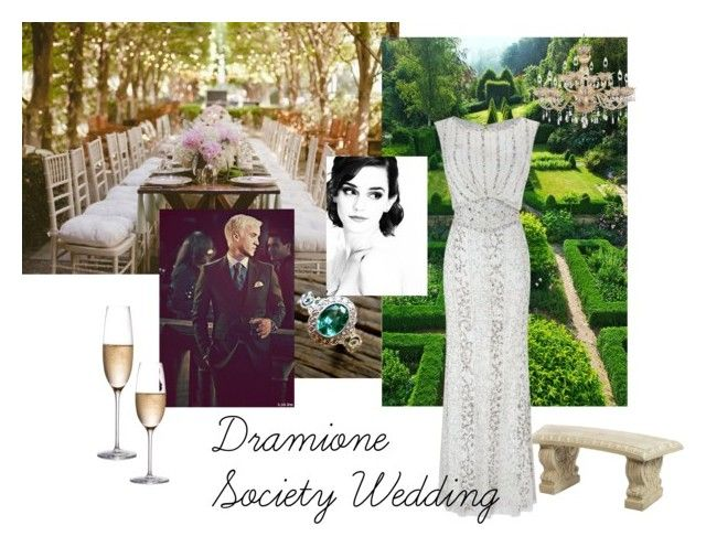 Dramione-because I can't help myself by jennyfeather on Polyvore featuring art