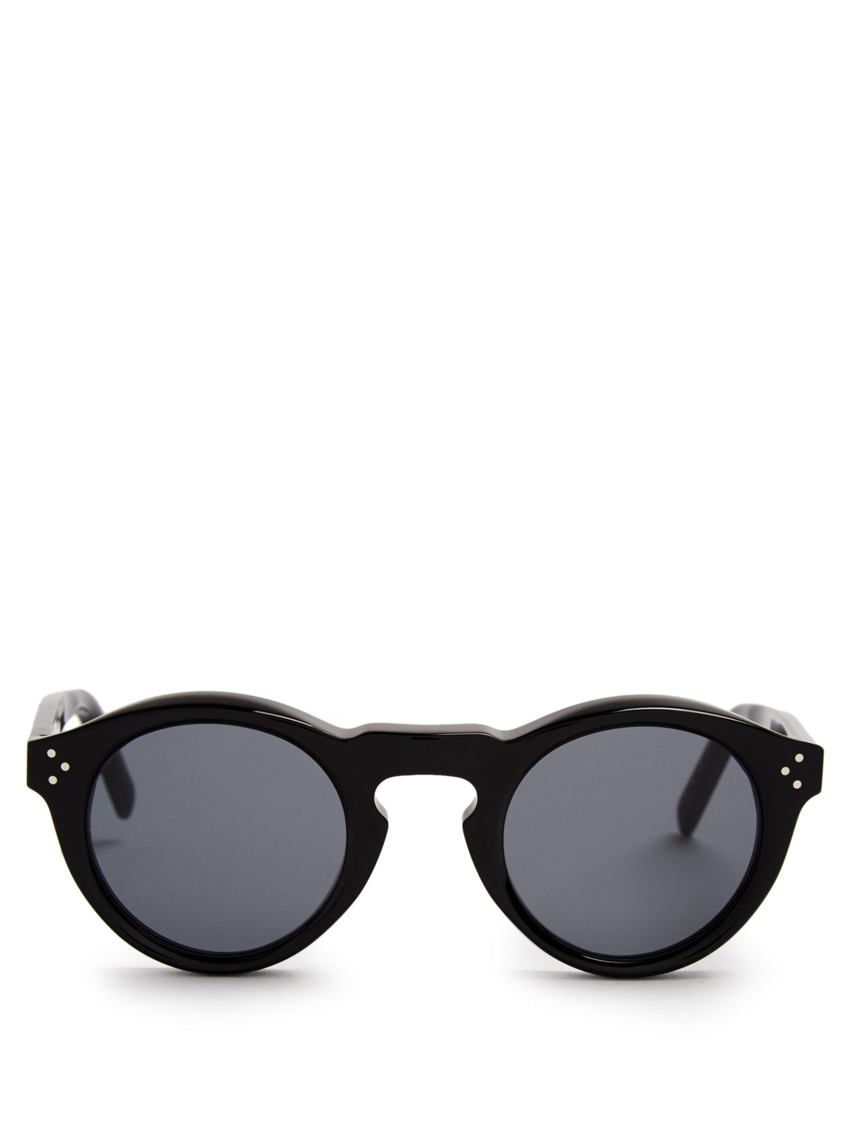 Round-frame acetate sunglasses   Céline Sunglasses   MATCHESFASHION.COM US