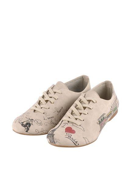 Doggo Chaussures Gris Femmes qO1Fm