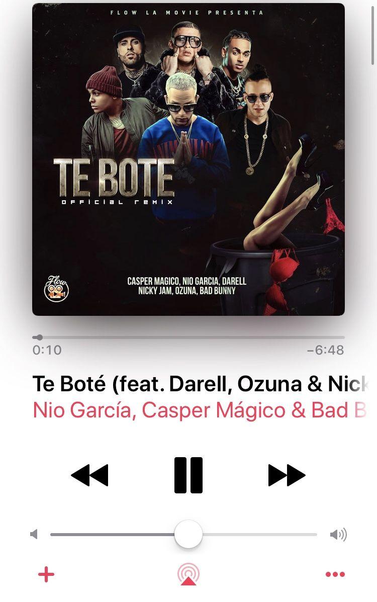 Te Botè Nio García, Casper Mágico & Bad Bunny in 2020