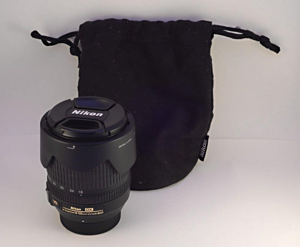 Pin On Nikon Nikkor 18 105mm F 3 5 5 6 As Dx Swm Af S Vr If Ed Lens