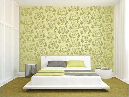 Bedroom Decorating Idea Modern Stencils By Cutting Edge Stencils. I ...