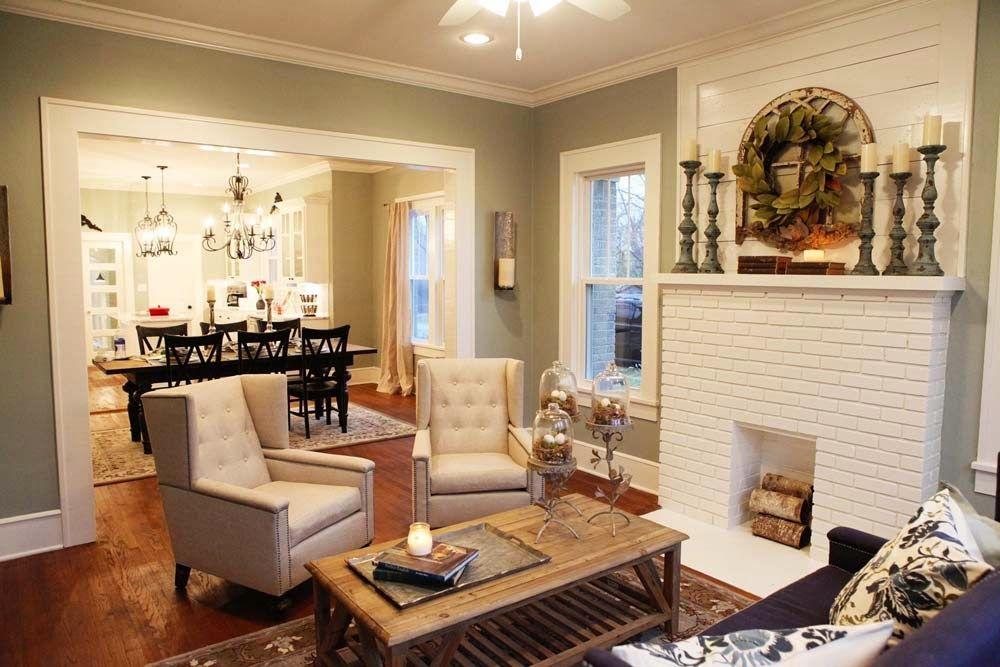 fireplace mantle decorating - Bless'er House: Friday Faves: Designer Spotlight {Joanna Gaines}