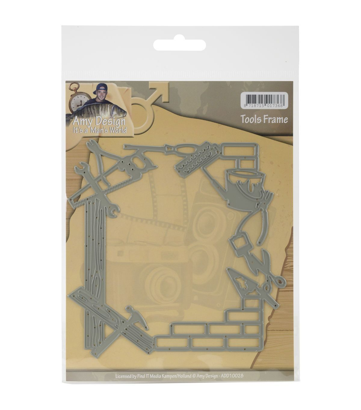 Get the Amy Design Its A Mans World Dies-Tools Frame to create lovely…