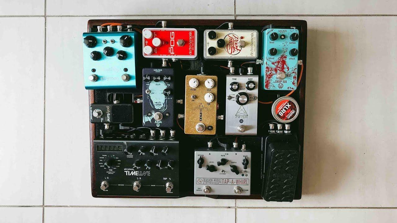worship pedalboard 2018 marcelo cidrack pedalboard case guitar pedals in 2019 pedalboard. Black Bedroom Furniture Sets. Home Design Ideas