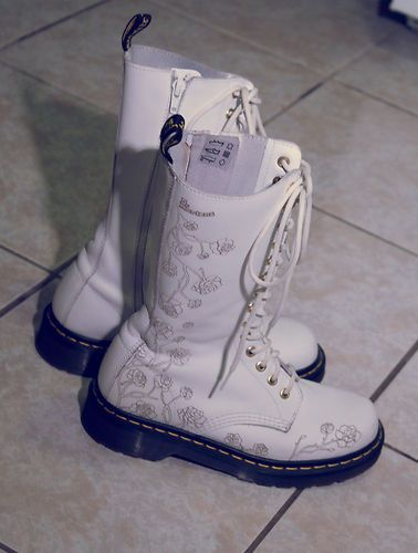 Doc martens boots white with floral etching docs ive owned doc martens boots white with floral etching mightylinksfo