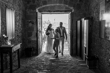 Chris & Christina's wedding a day of joy and happiness shared with family and friends at Sensatori Aphrodite Hills Paphos . Photographs taken by Paphos based wedding photographer Dimitri Katchis