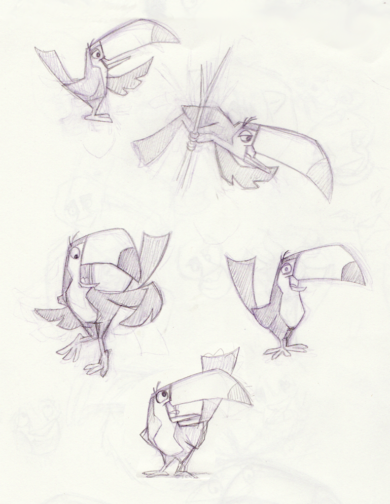 toucan character design - Google Search