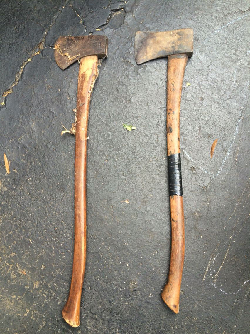 A Plumb Hudson Bay Style And A Vaughn Single Bit Axes Bushcraft