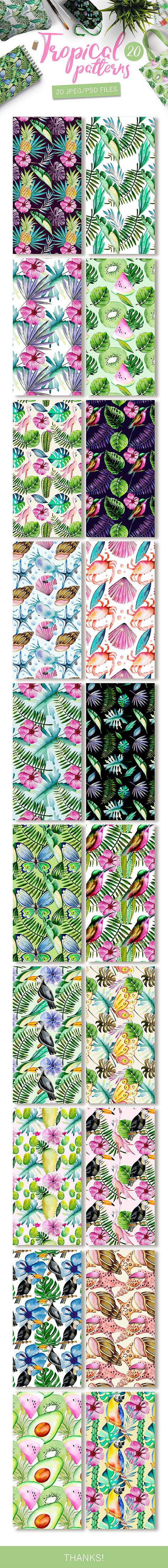 FLOWER FLORAL LEAF PRINT ALOHA HAWAII DESIGN WALLPAPER