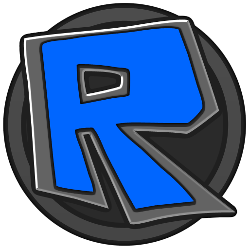 Roblox Logo Blue Grey By Questlog On Deviantart Roblox Roblox