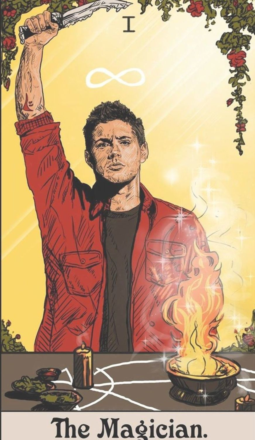Supernatural Tarot Card Deck