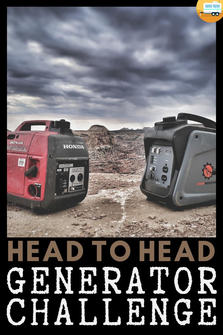 Head to Head Generator Challenge // #honda vs Dirty Hand
