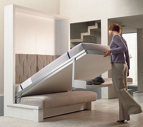 Space Saving Furniture By Italian Spinelli.