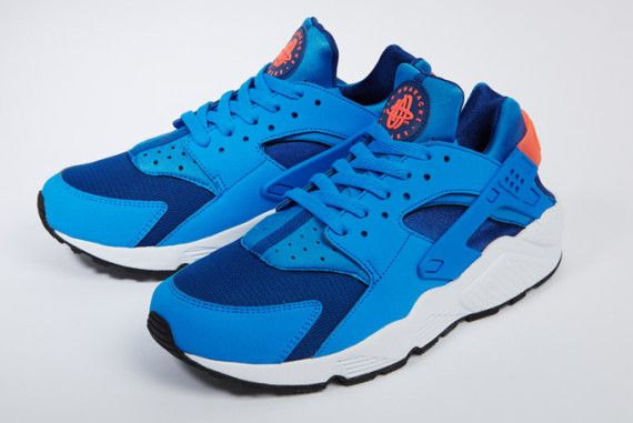 new style d4472 fbf3b Nike Air Huarache - Gym Blue - Photo Blue - Mango - SneakerNews.com