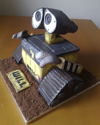 wall e cakes google search cool cake designs birthday on wall e id=55891