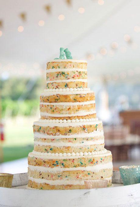 Sprinkle Wedding Cakes   Wedding cake, Cake and Catering
