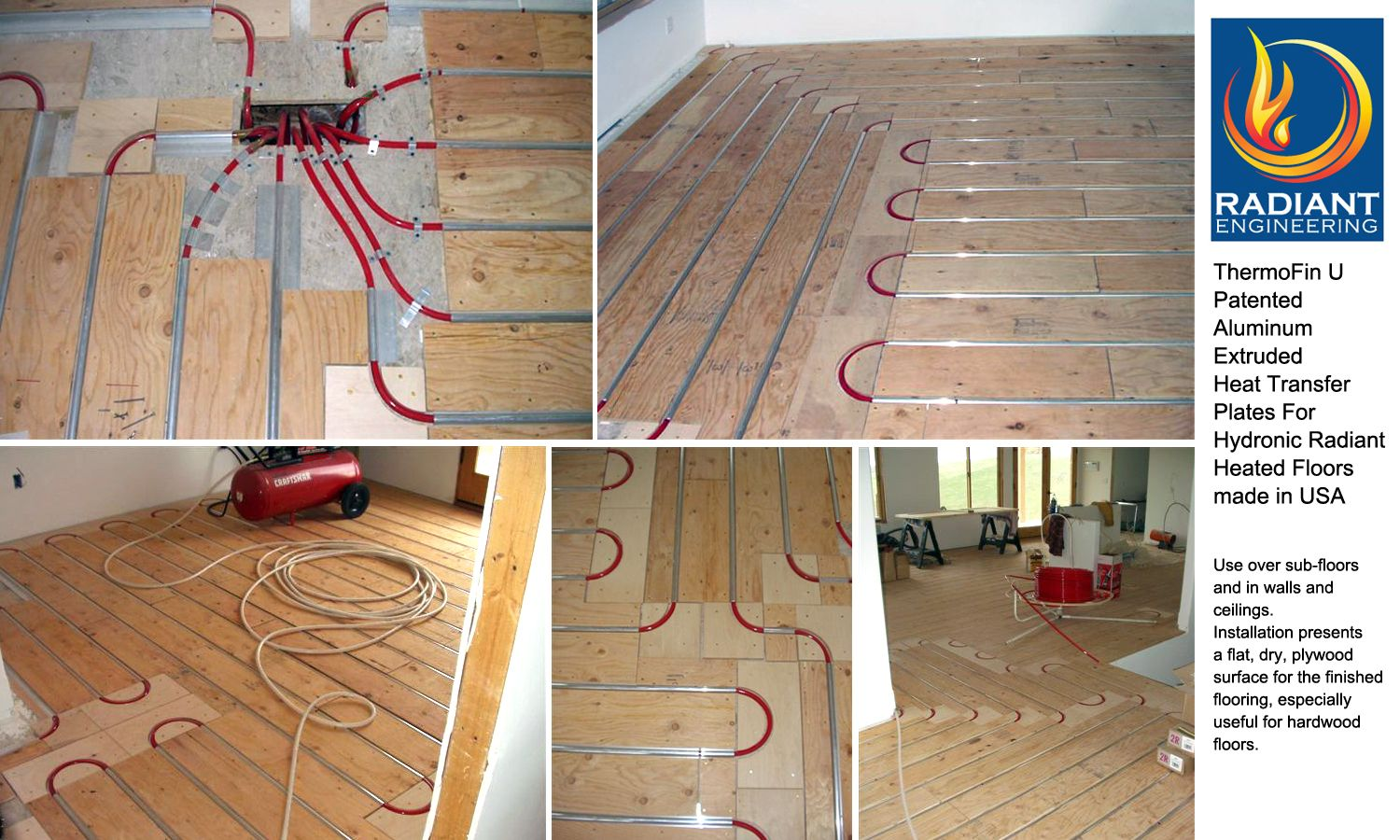 Free Samples Of Thermofin At Www Radiantengineering Com Contact Heated Floors Using Thermofin High E Radiant Floor Heating Radiant Heat Hydronic Radiant Heat