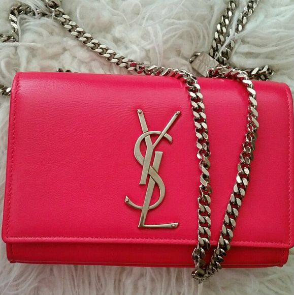 cb30fd66ba8 I just added this listing on Poshmark  YSL Saint laurent monogramme  crossbody bag in pink.  shopmycloset  poshmark  fashion  shopping  style   forsale  Yves ...