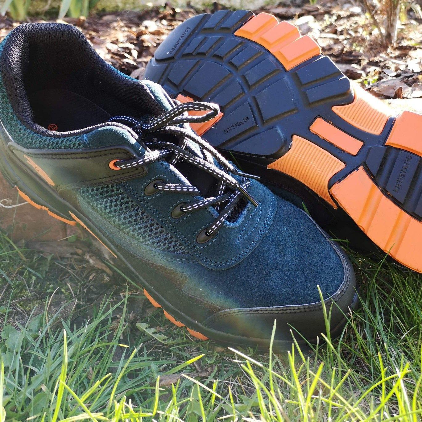 Polbuty Ochronne Bpz S1 Z Podnoskiem Hiking Boots Shoes Boots