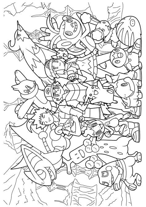 Pokemon diamond pearl coloring pages Creative Coloring Pages - new coloring pages of the diamond minecraft
