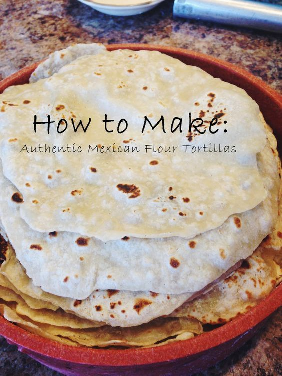 Photo of Authenic Mexican Flour Tortillas