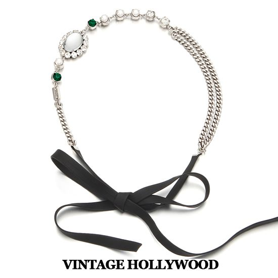 Mirror Hairband by Vintage Hollywood