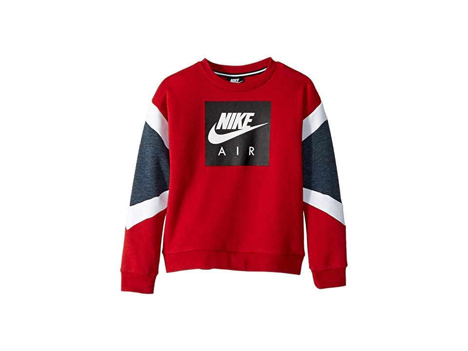 Nike Kids Nike Air Crew Pullover (Little Kids) Boy's