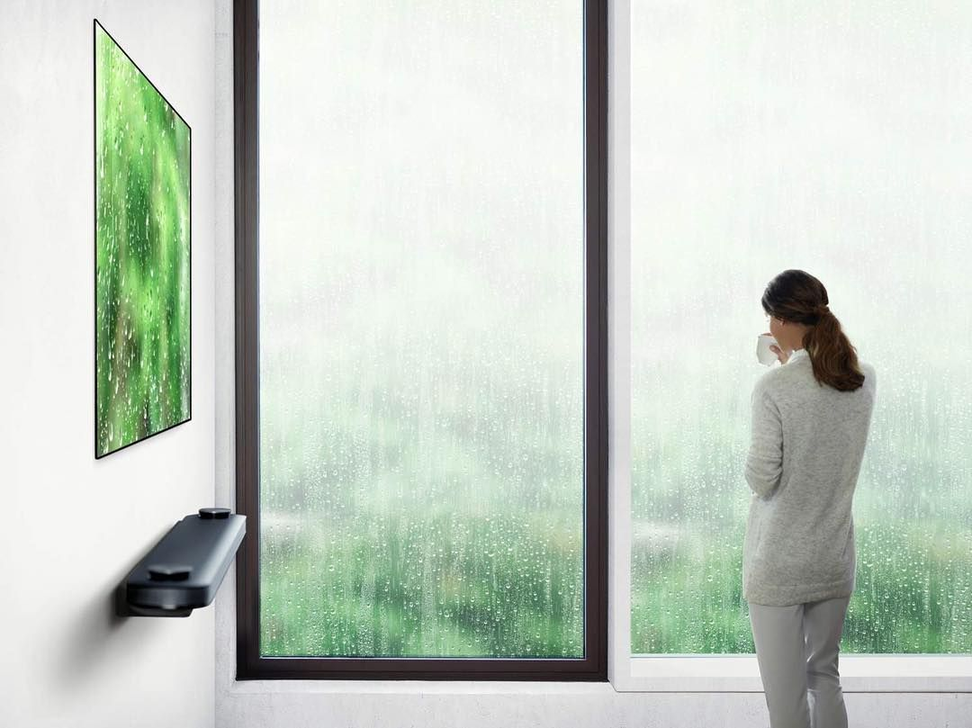 Look at this New LG OLED TV design, one of the most