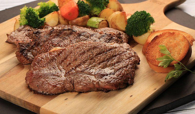 ستيك مشوي مع الأعشاب لرجيم مثالي مطبخ سيدتي Recipe Meals Steak Meat