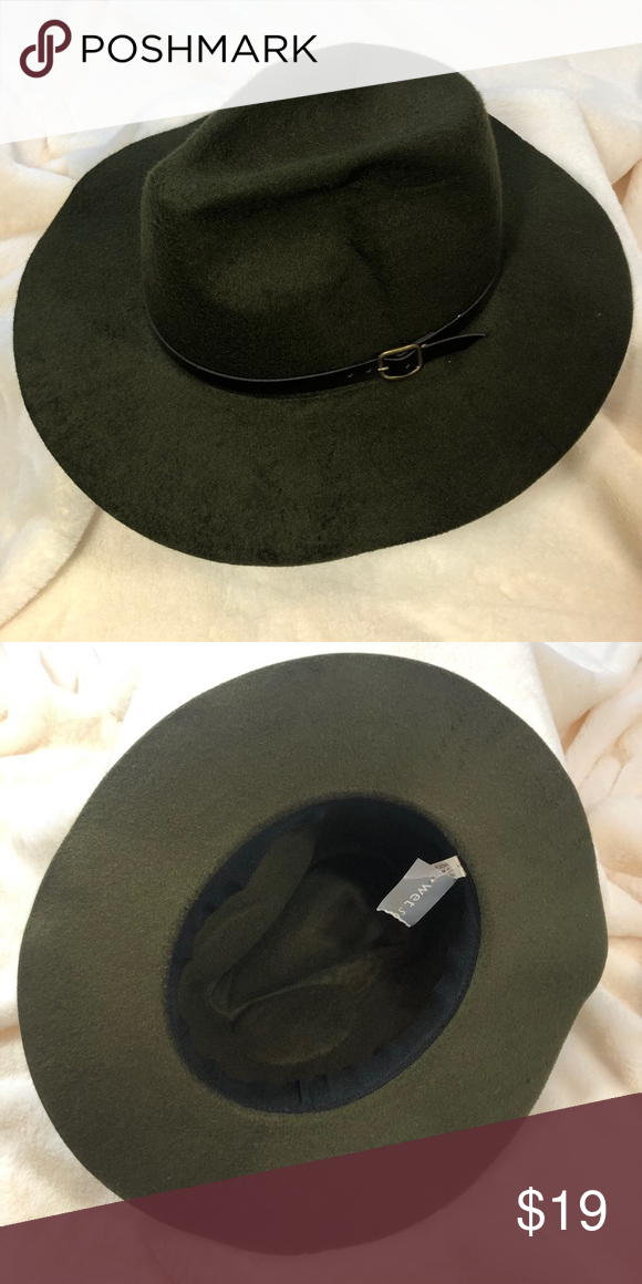 """6d81632831f NWT Felt Hat Never worn Forest Green Hat by Wet Seal. Interior  circumference is 22 1 2"""". Wet Seal Accessories Hats"""
