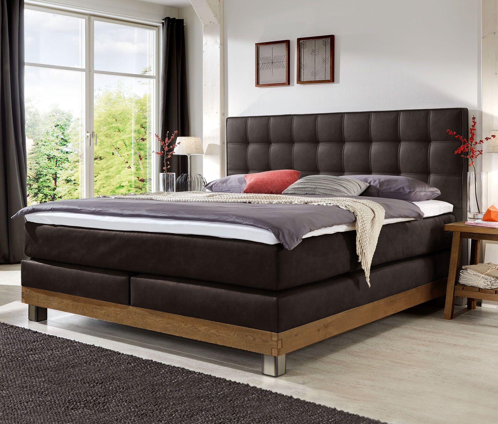Boxspringbett Irving In 2020 Boxspringbett Schlafzimmer Design