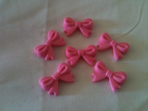 candy bows for cupcakes