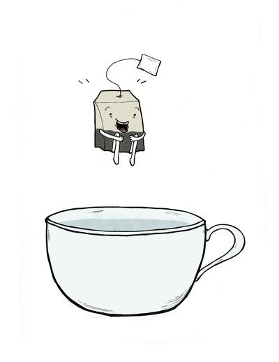 """""""CHRISTIANS ARE LIKE TEABAGS, you don't know what they're really like until you put them in hot water."""" ~ Chip Ingram"""