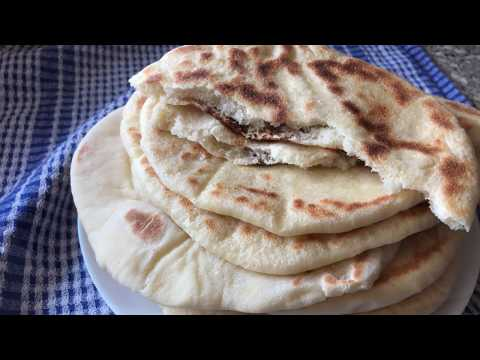 Turkish Fluffy Flatbread Recipe - Episode 390 - Baking ...