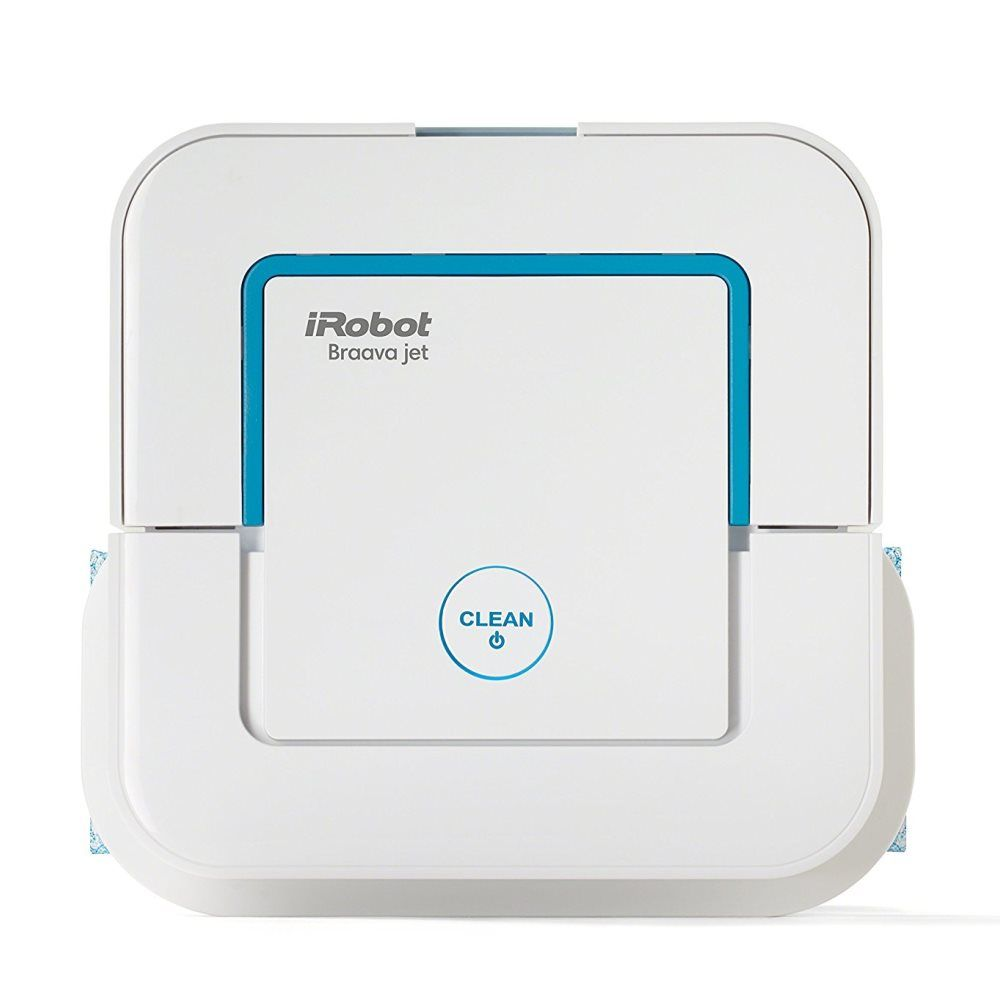 The iRobot Braava jet 240 Mopping Robot is an affordable alternative to automated vacuums. Perfect for the bathroom, mudroom and kitchen!
